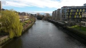 The River Liffey. Ok this photo wasn't taken on this run but it's still nice. Ahhhhh