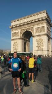 Le start line. Paris Marathon - April 12th 2015